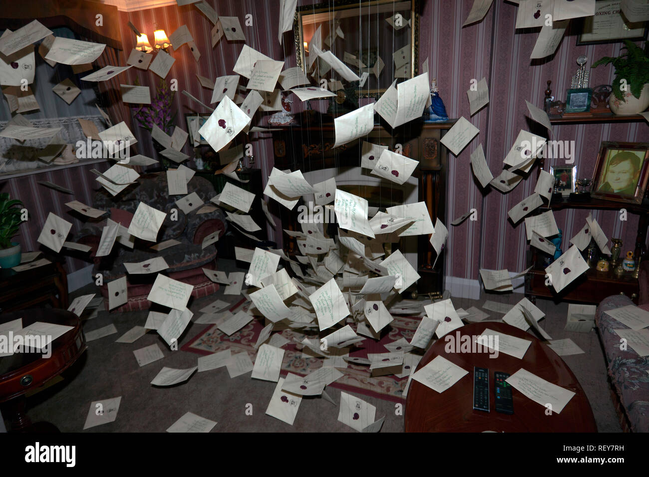 Harry Potter Wohnzimmer Hogwarts Brief Stockfotos Hogwarts Brief Bilder Alamy