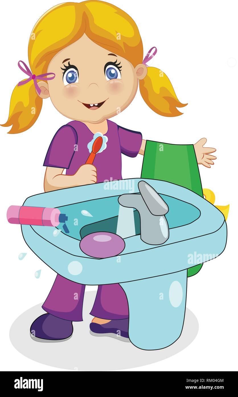Waschbecken Putzen. Affordable Wei Reinigen Latest Granitboden ...