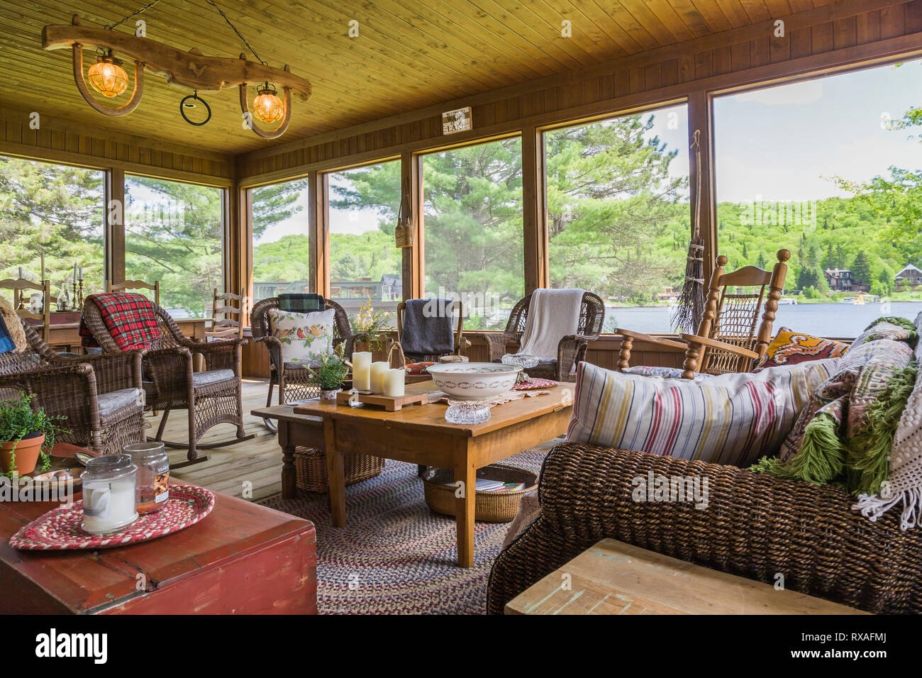 Couchtisch Pck Sunroom Stockfotos Sunroom Bilder Alamy