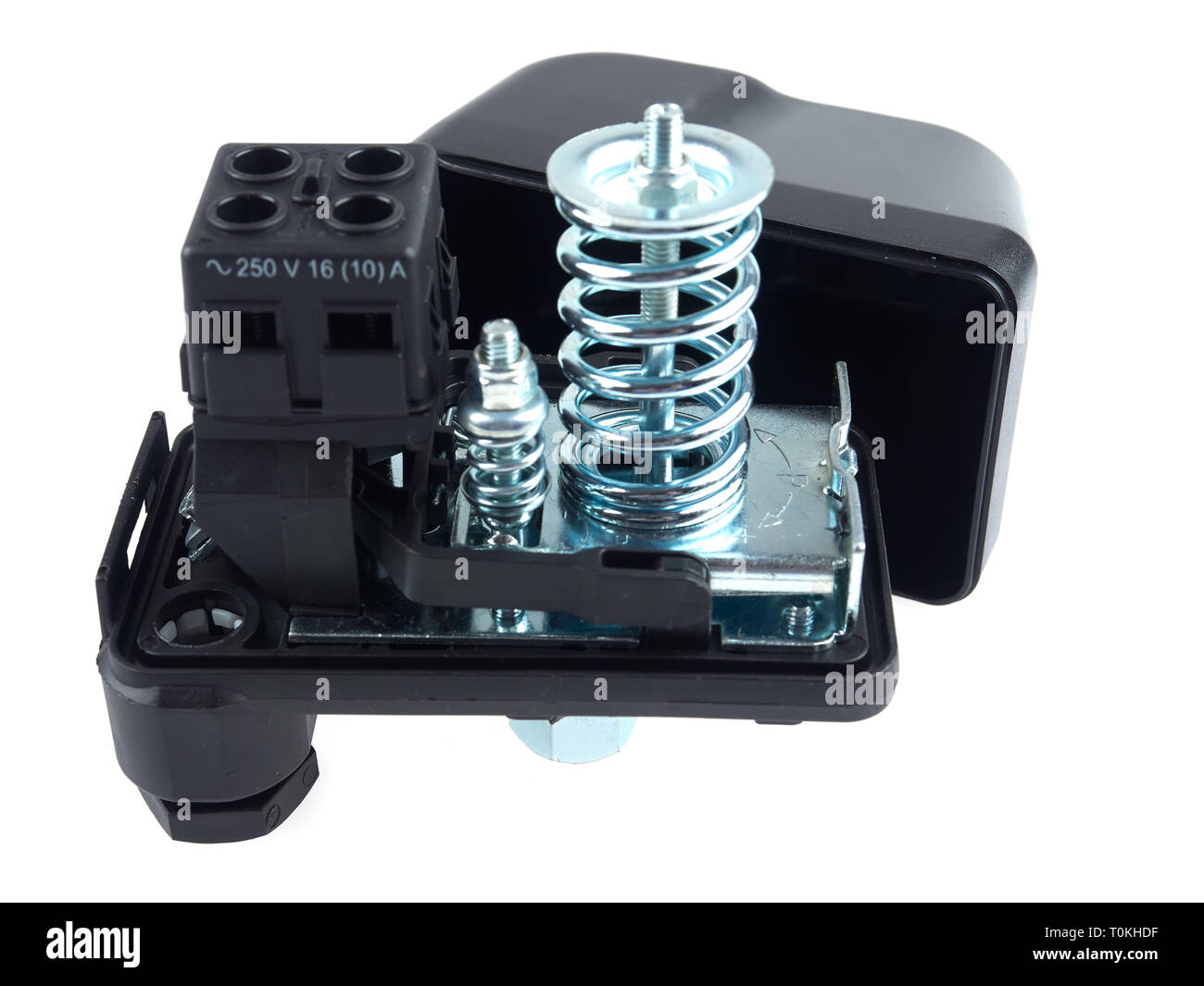 Druckschalter Wasserpumpe Pressure Switch Stockfotos Pressure Switch Bilder Alamy
