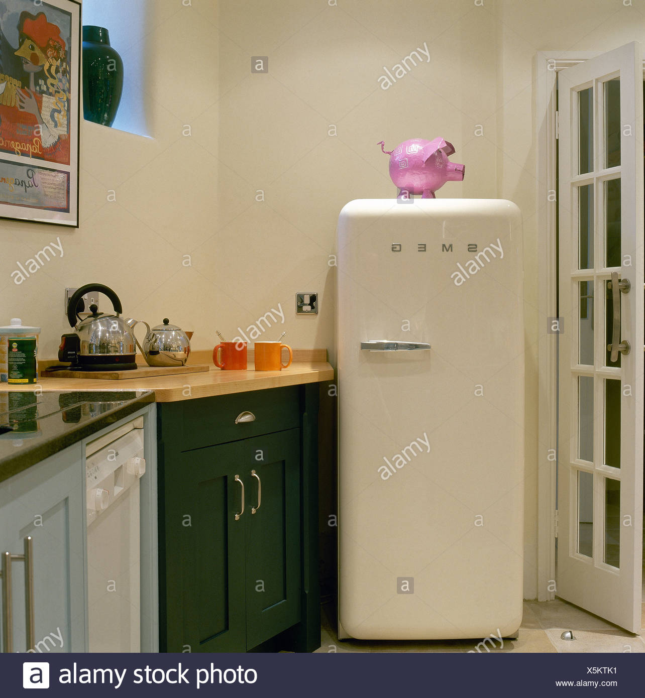 Smeg Küche Smeg Stockfotos And Smeg Bilder Alamy