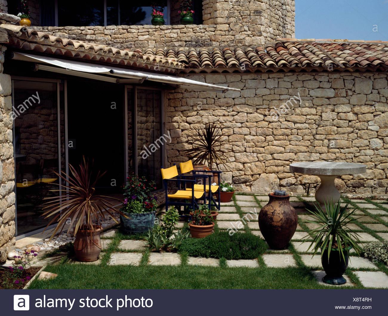 Terrasse Mediterran Beispiele Terrassenbepflanzung Praktische