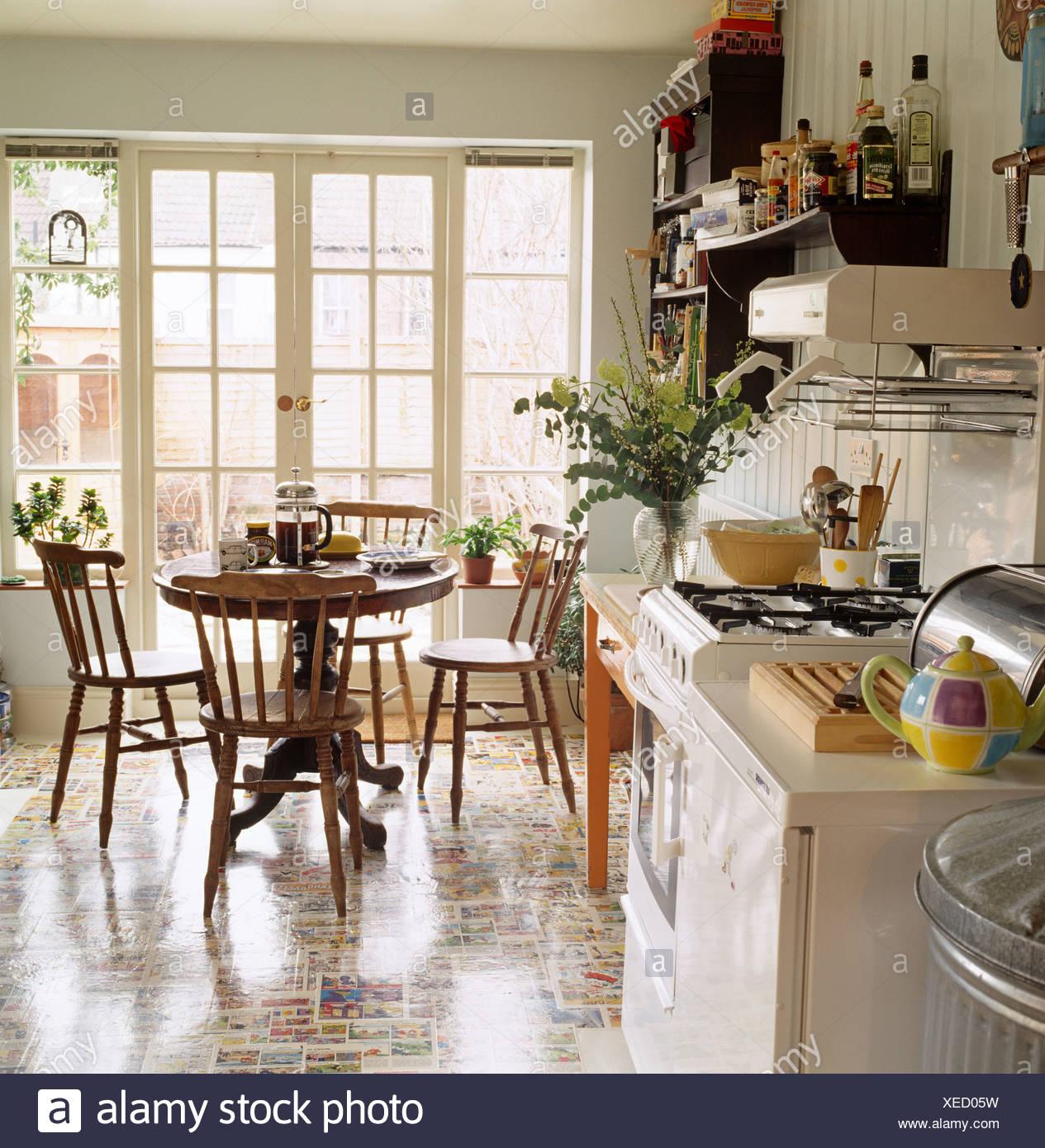 Schiebetür Küche Esszimmer   Herausragende Schiebetür Für Küche ...