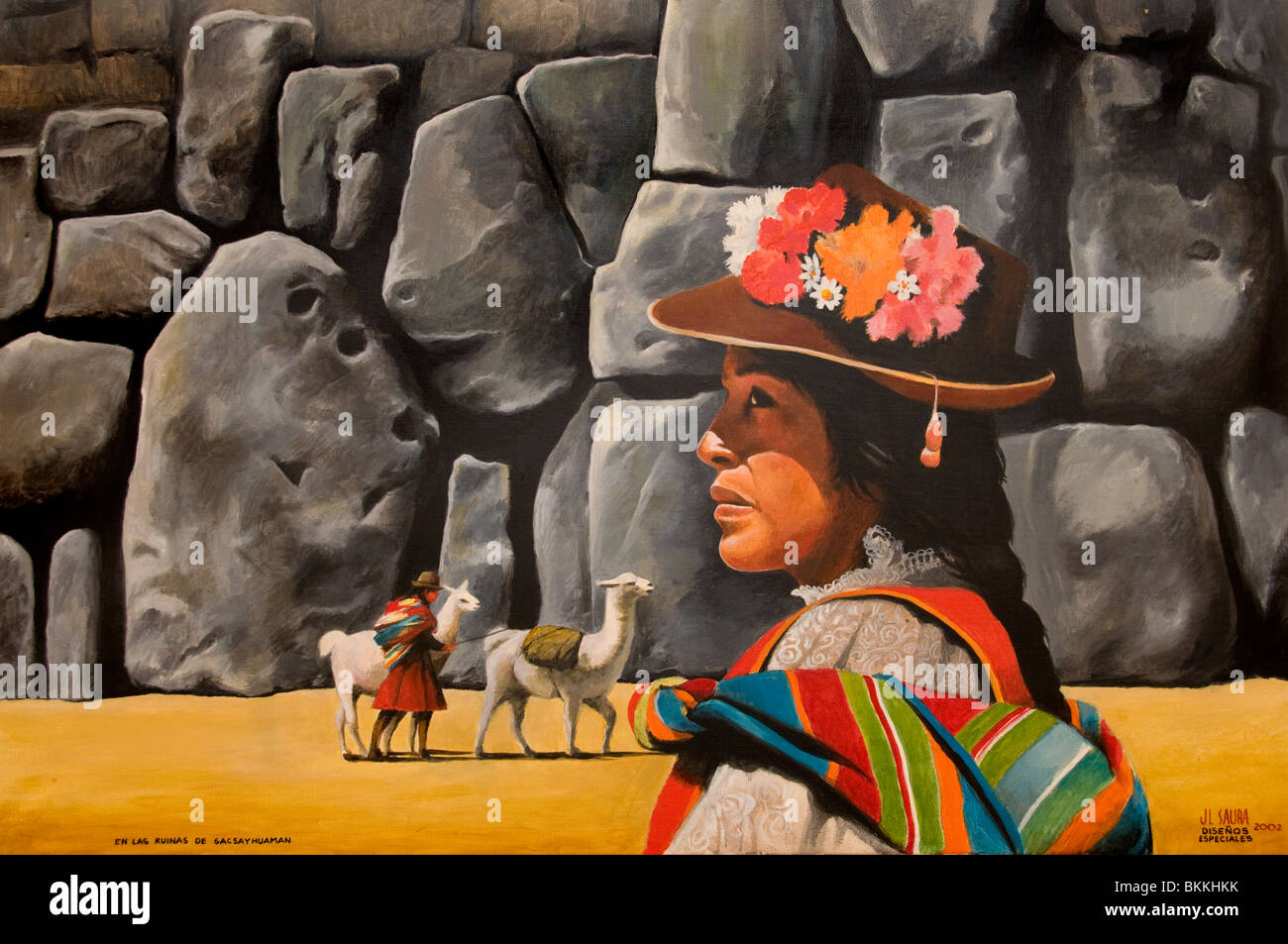 Peintures Du Sud Painting Peru Photos And Painting Peru Images Alamy