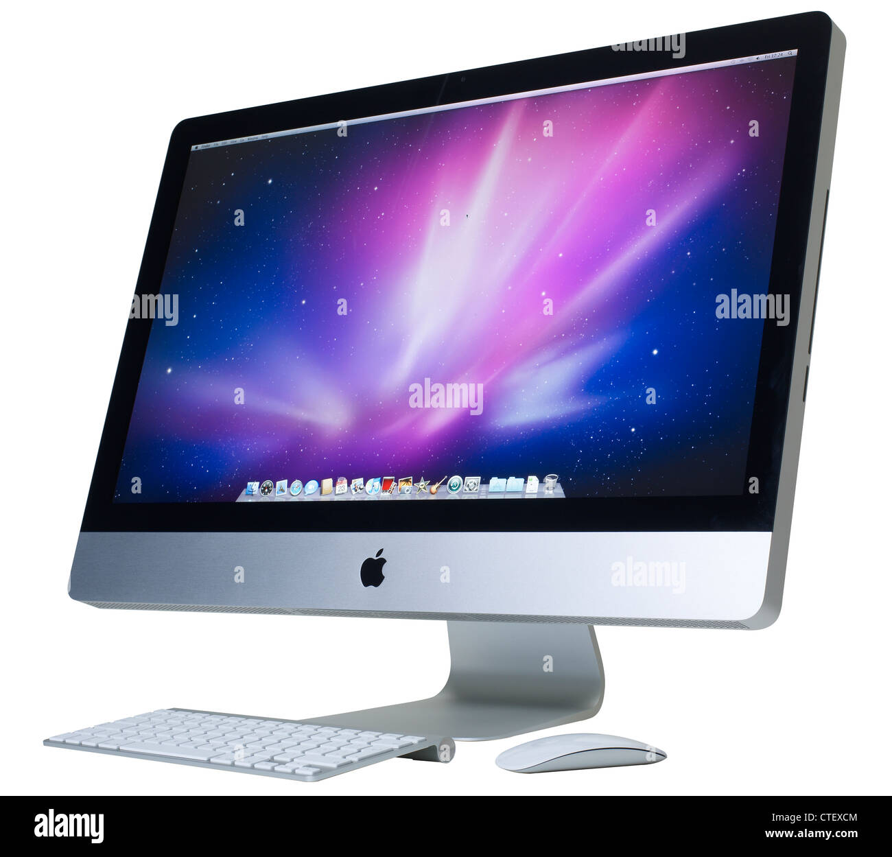 Imac Ordinateur 27 Pouces écran Ordinateur Apple Imac Banque D Images Photo Stock