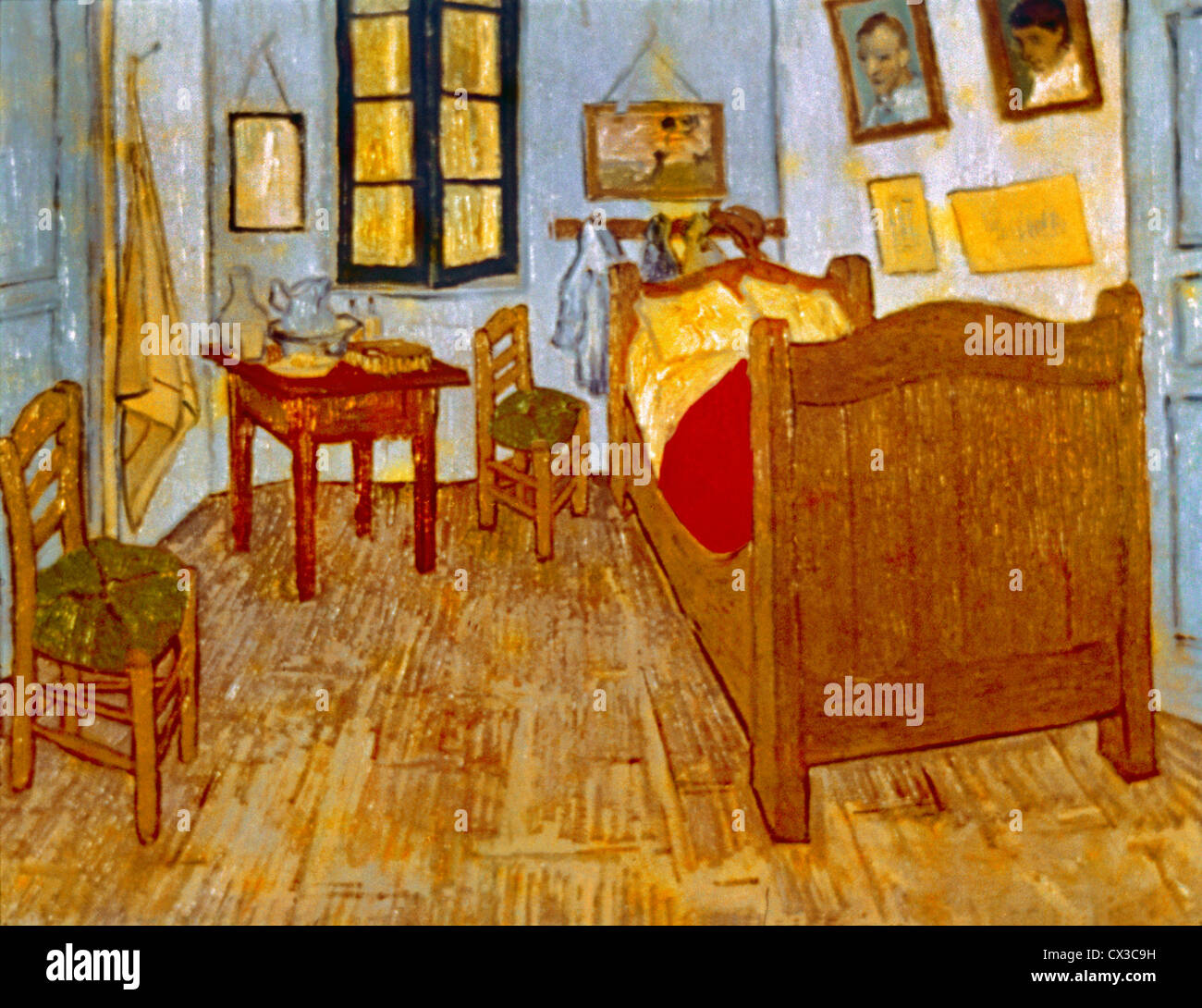 La Chambre De Vincent La Chambre De Vincent Van Gogh Banque D Images Photo Stock