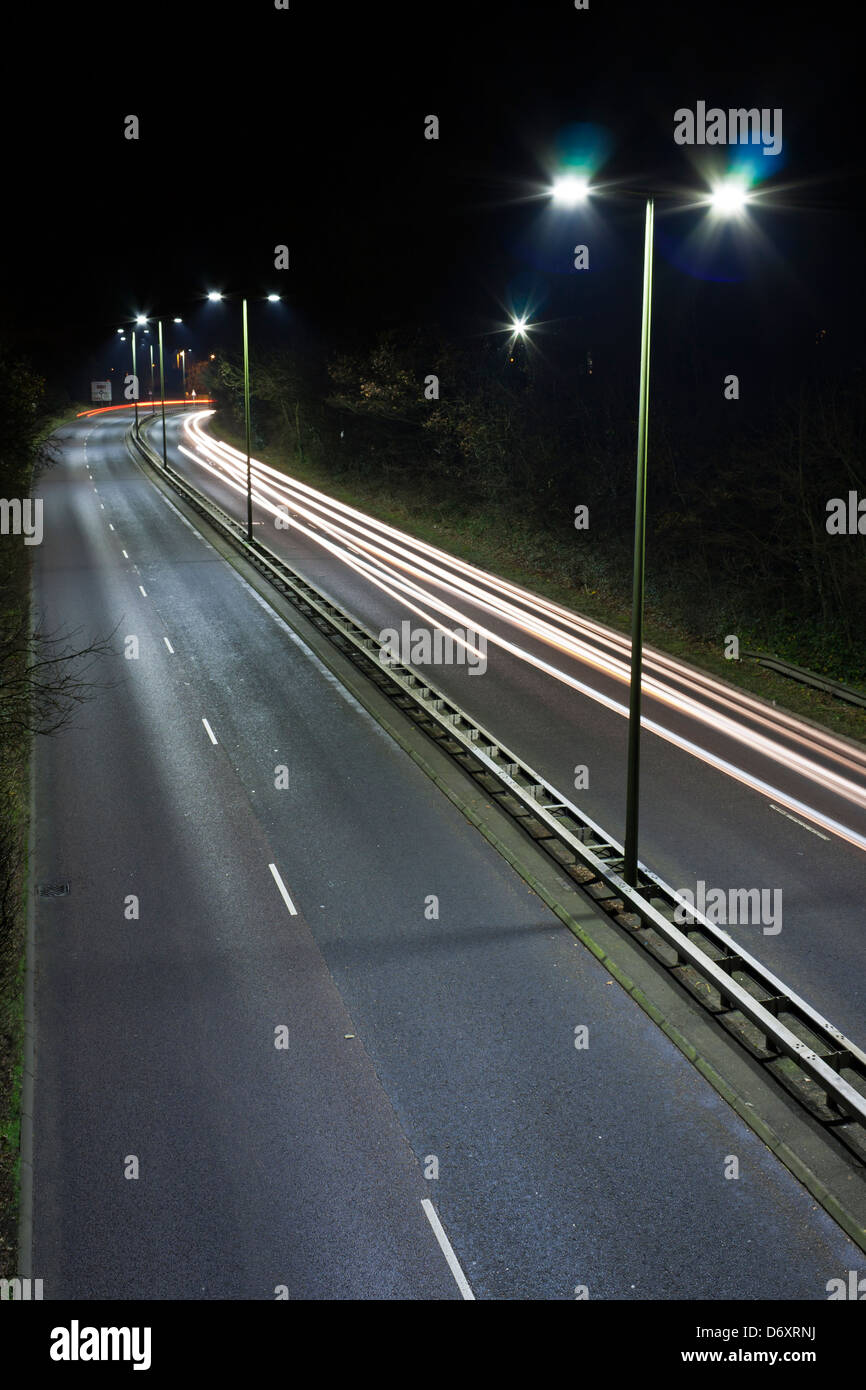 Eclairage Routier Led Eclairage Public Led Banque D Images Photo Stock 55908430 Alamy