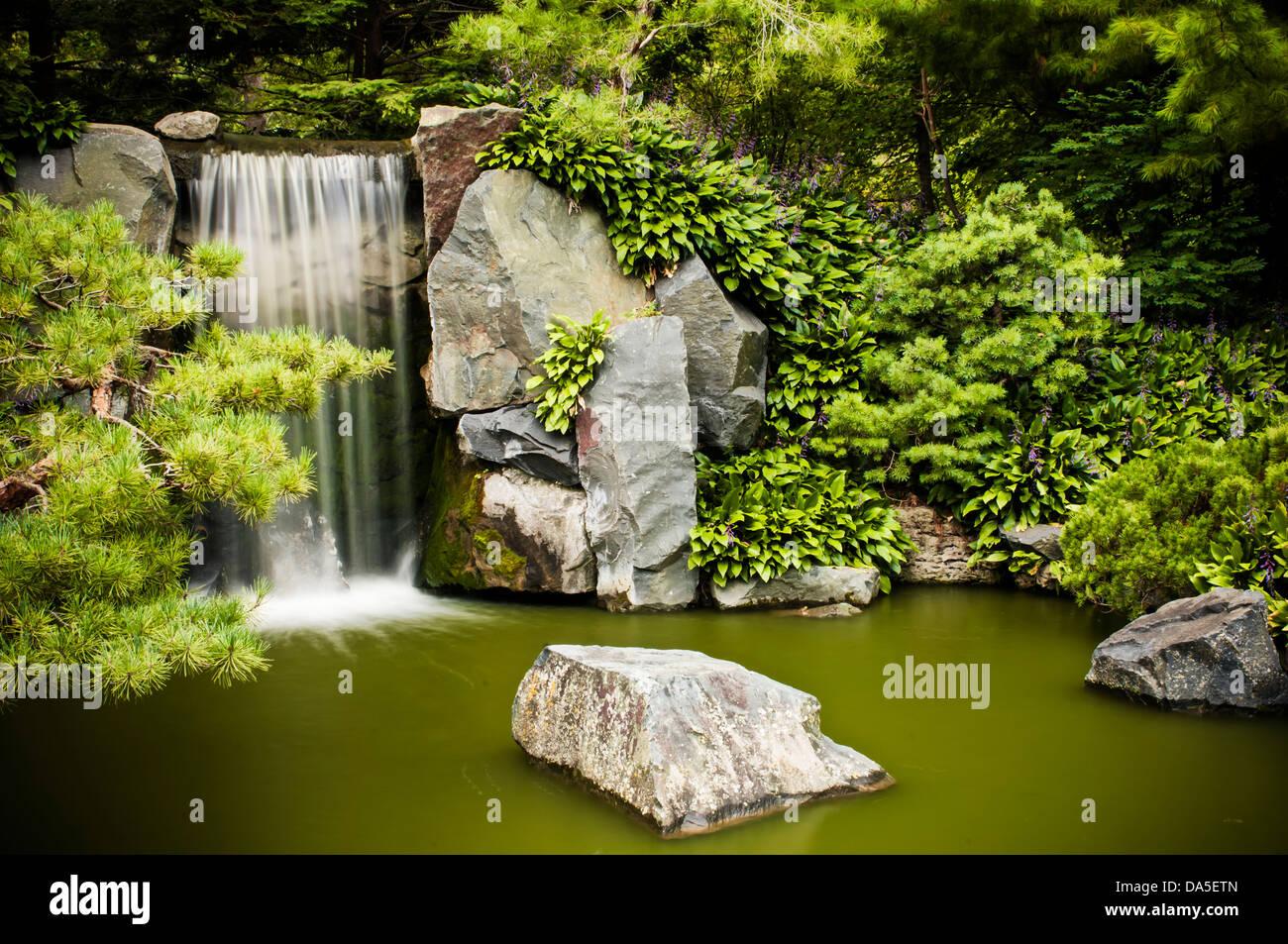 Bassin Japonais Avec Cascade | Bassin Japonais Avec Cascade Jardin ...