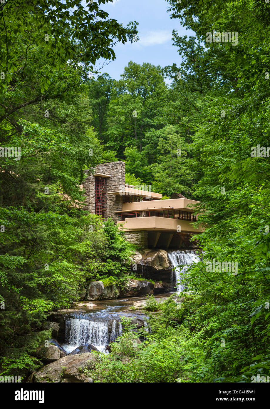Falling Water House Usa Fallingwater House Photos Fallingwater House Images Alamy