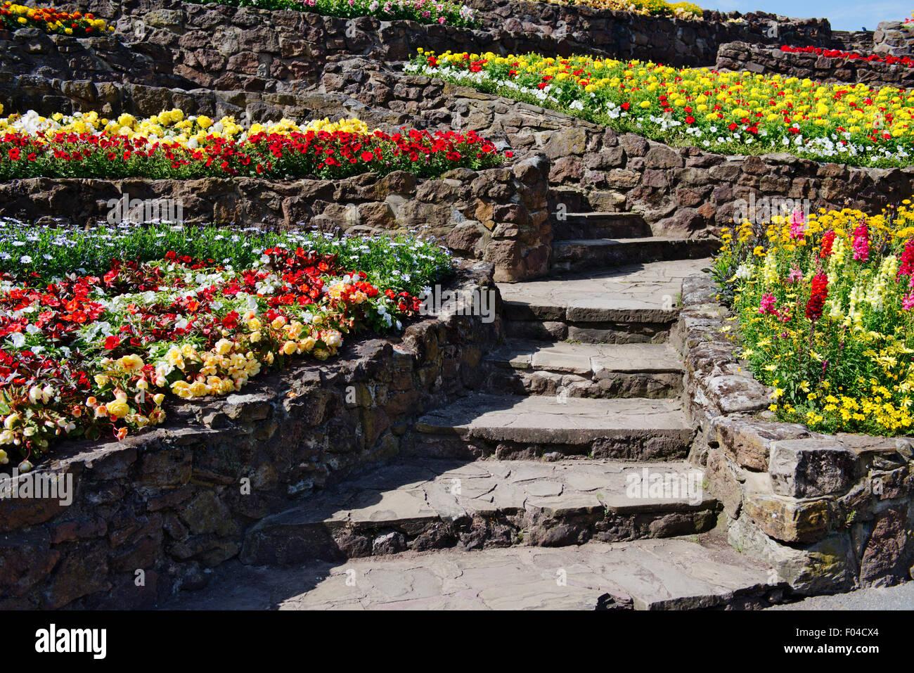 Terrasse Jardin Fleuri