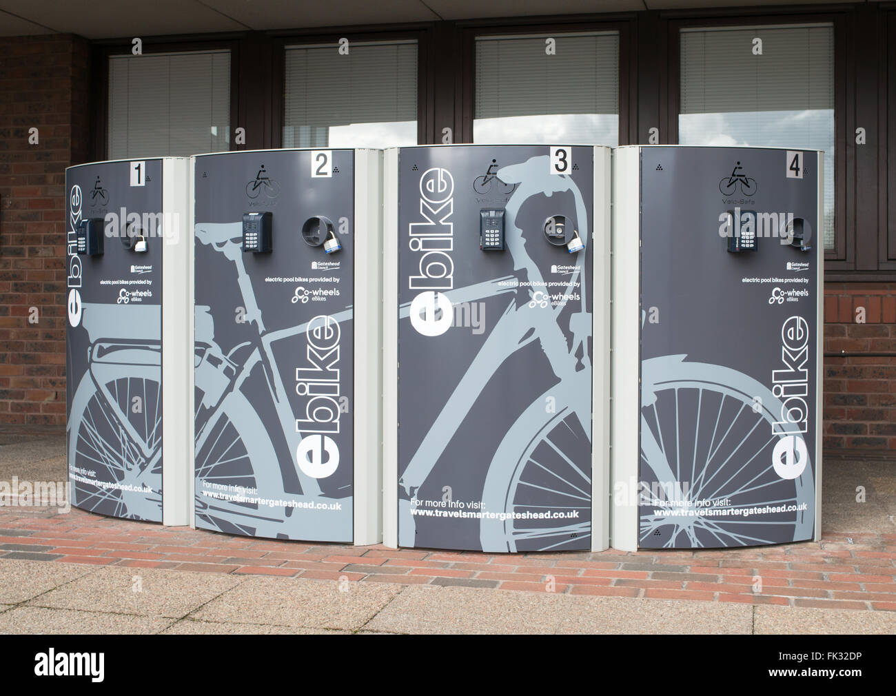 Bike Lockers Banque D Image Et Photos Alamy