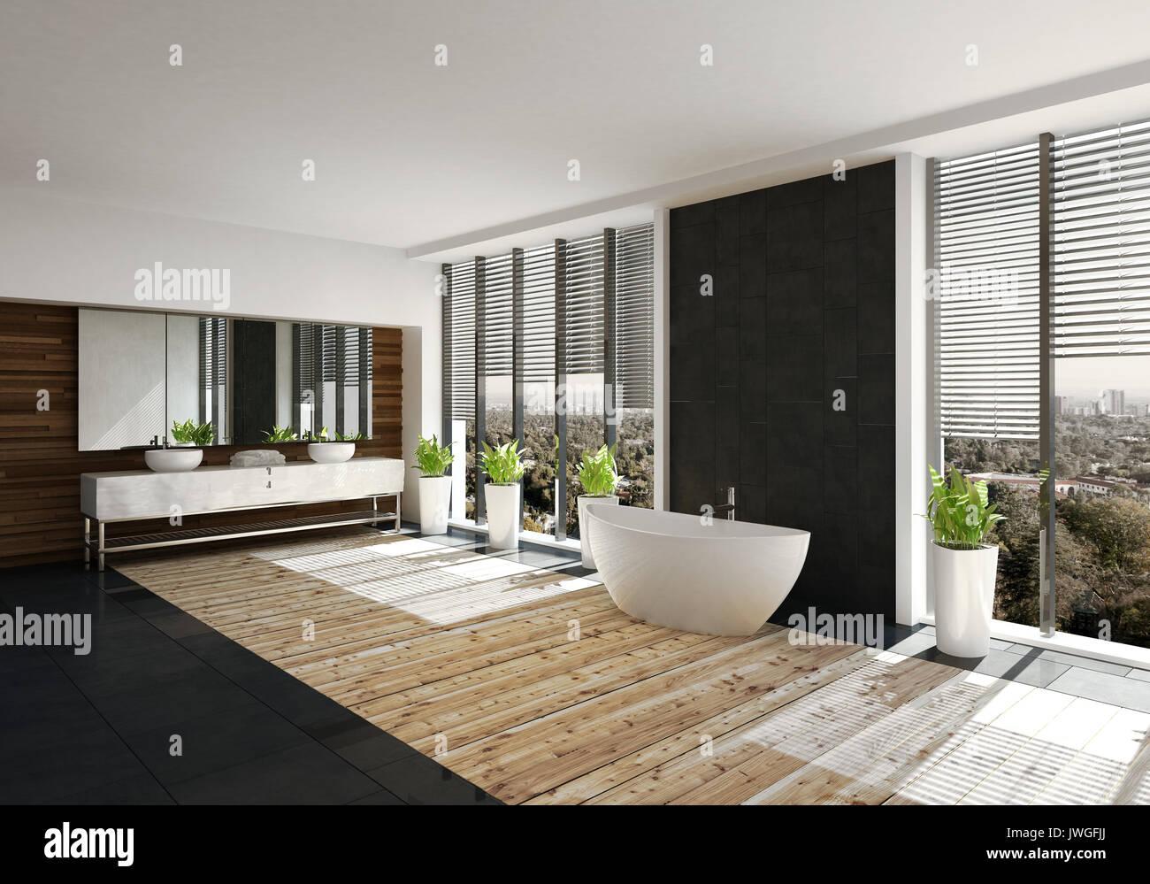 Awesome Vanite Salle De Bain Moderne Contemporary - House Design ...