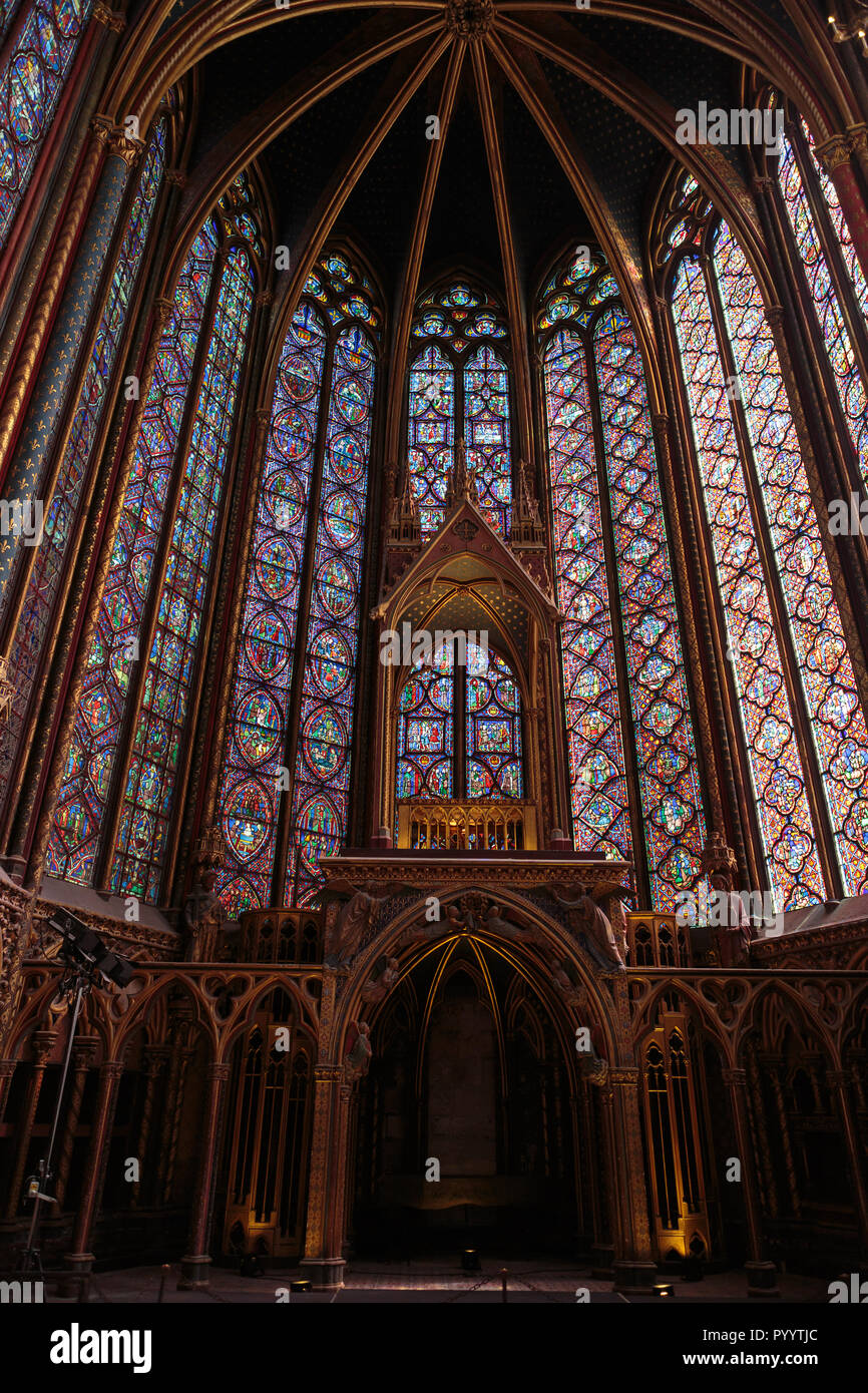 Tjc Interieur Sainte Chapelle Photos Sainte Chapelle Images Page 4 Alamy