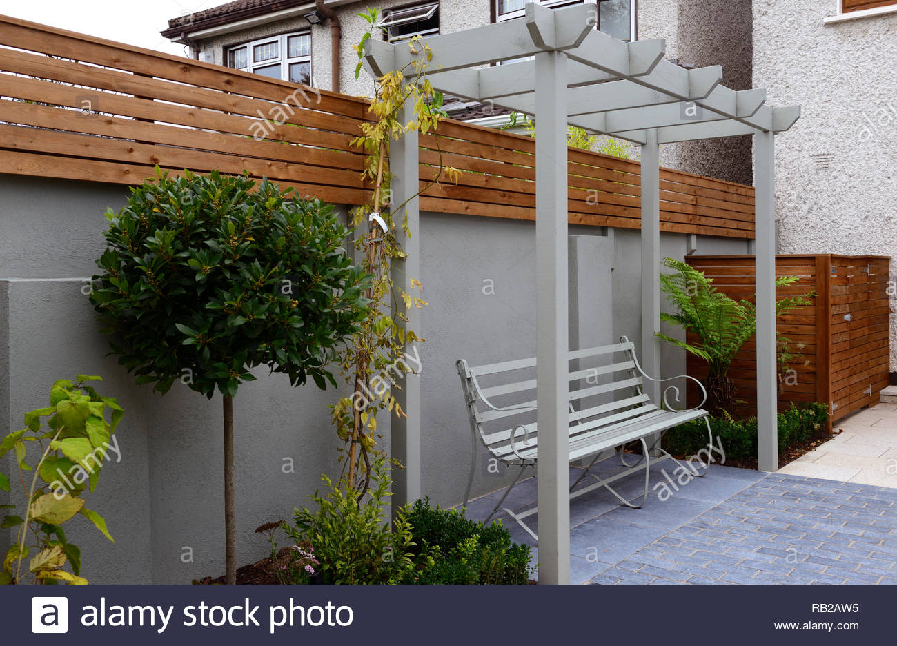 Pergola Patio Banque D Image Et Photos Alamy