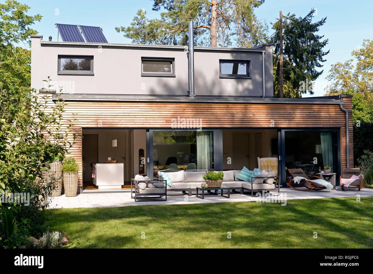 Terrasse Jardin Moderne | Aménagement Paysager Terrasse Jardin ...