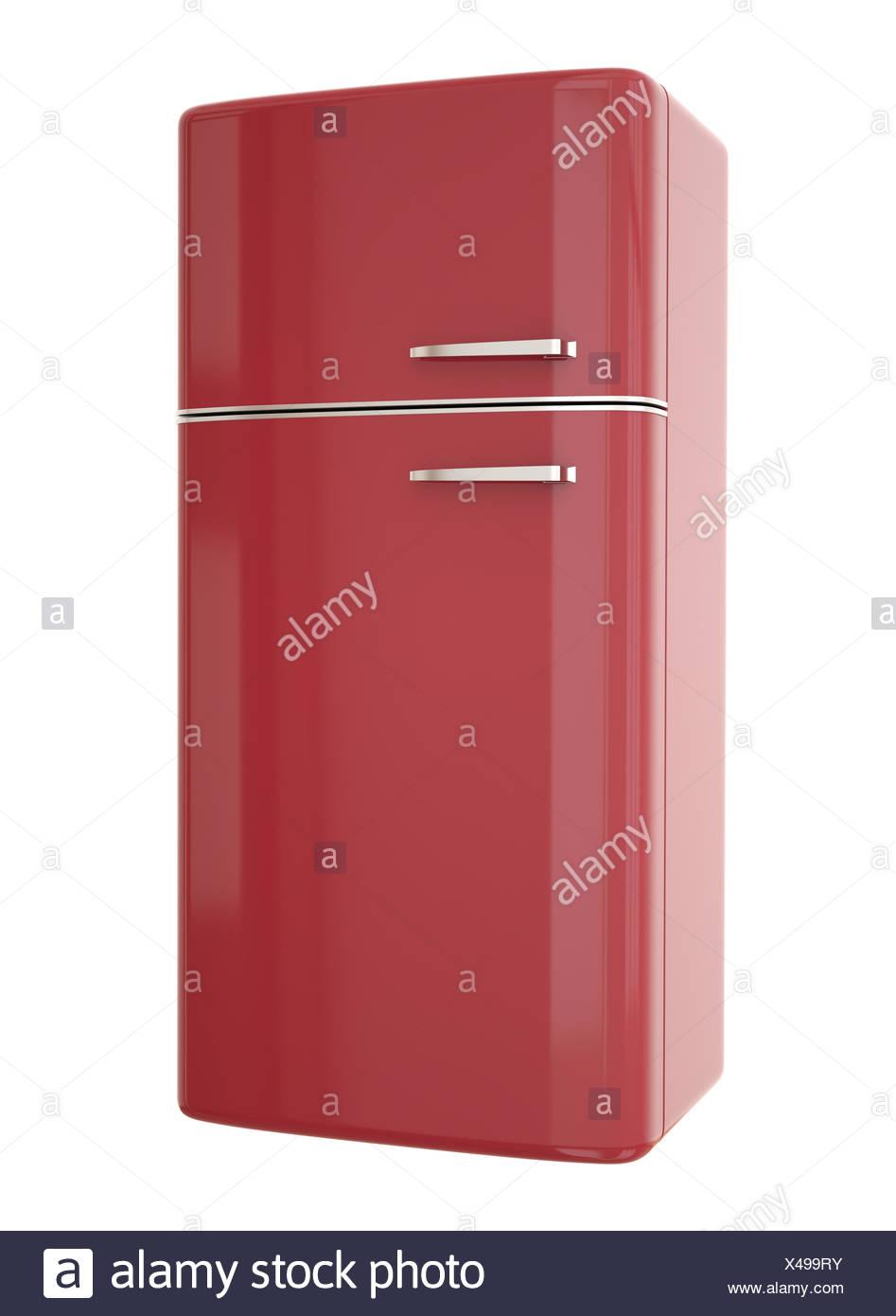 Refrigerateur Rouge   Réfrigérateur Réfrigérateur Rétro Rouge Rétro ... d6353d9d9c7a