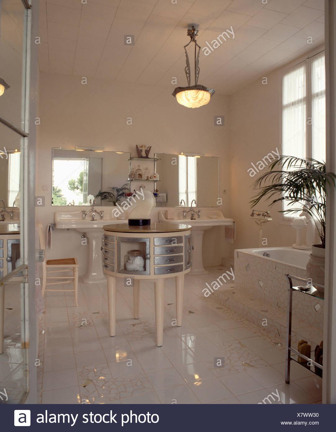 Deco Miroir Salle De Bain | Miroirs Tlmy Nordique Mur Rond Miroir ...