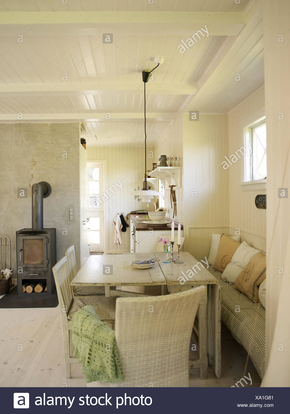 Lambris Blanc Salon Wood Panelled Room Photos Wood Panelled Room Images Alamy