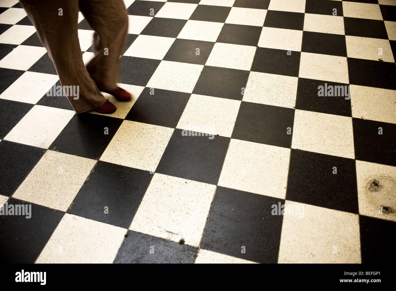 Tappeto a scacchi in pvc tappeti in plastica riciclata tappeto