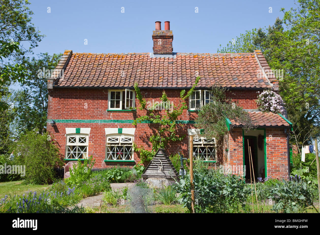 Cucina Cottage Inglese Paese Di Lingua Inglese Cottage A Bury Norfolk Con Giardino Cucina