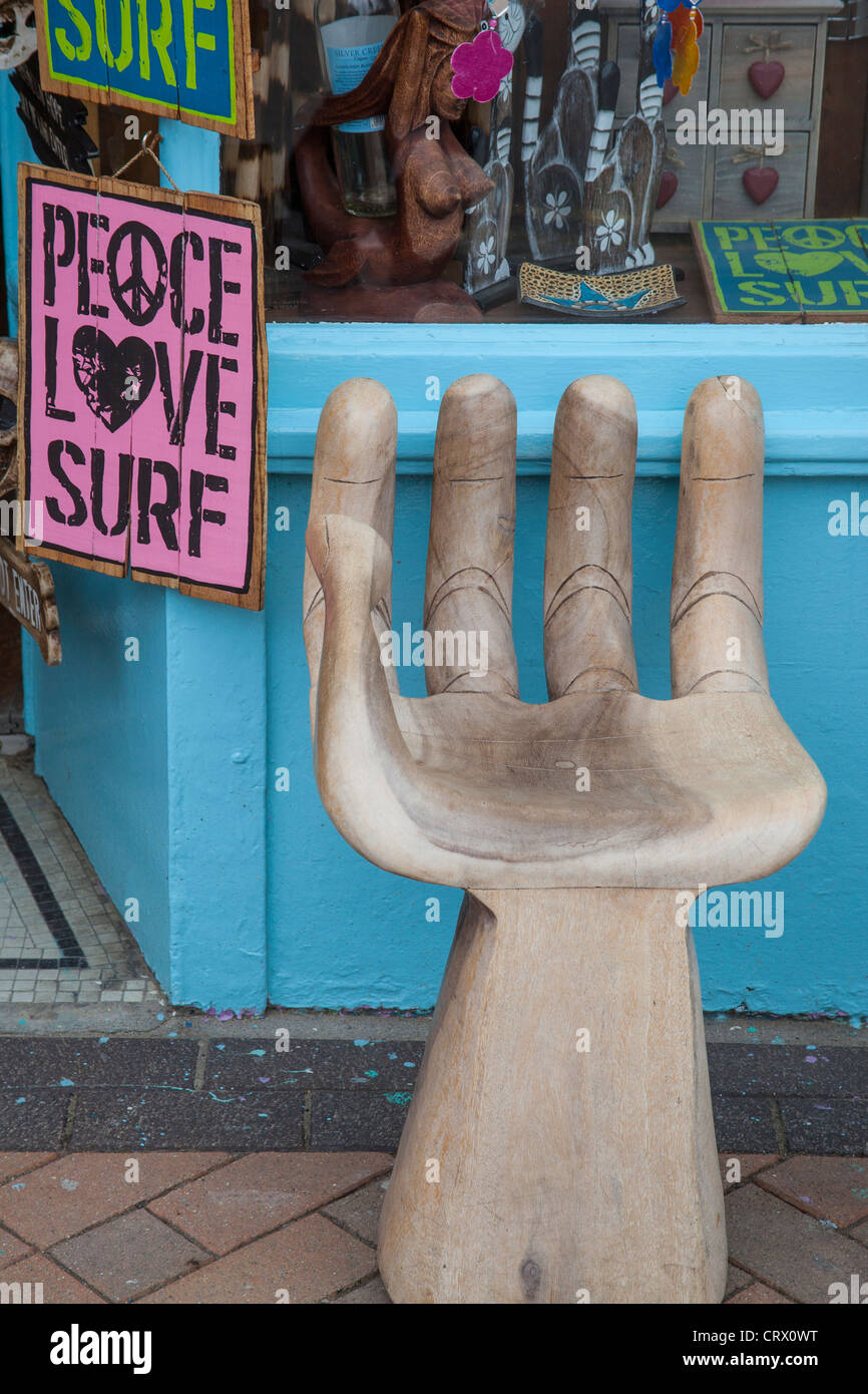 Sedia Legno Forma Mano Shaped Chair Immagini Shaped Chair Fotos Stock Alamy
