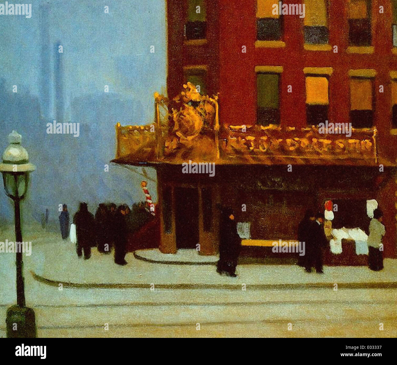 La Chambre A New York Edward Hopper Edward Hopper New York Angolo Di Strada Foto And Immagine