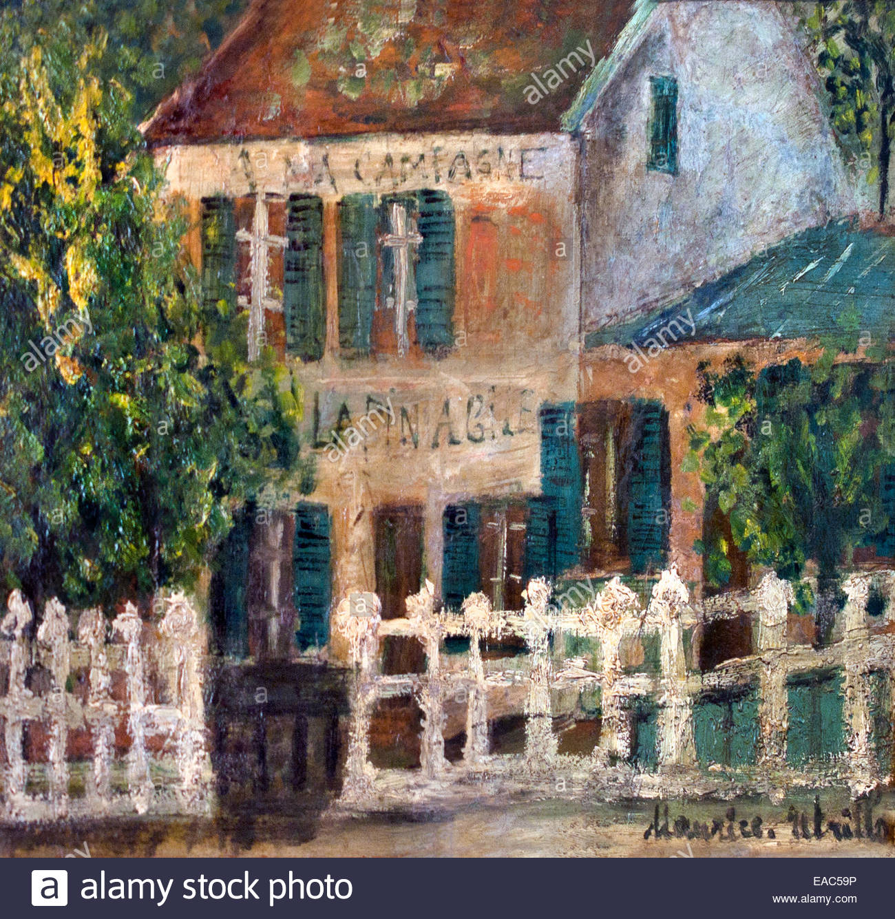 Pittore Francese Maurice Montmartre Di Maurice Utrillo Francia Pittore Francese Foto