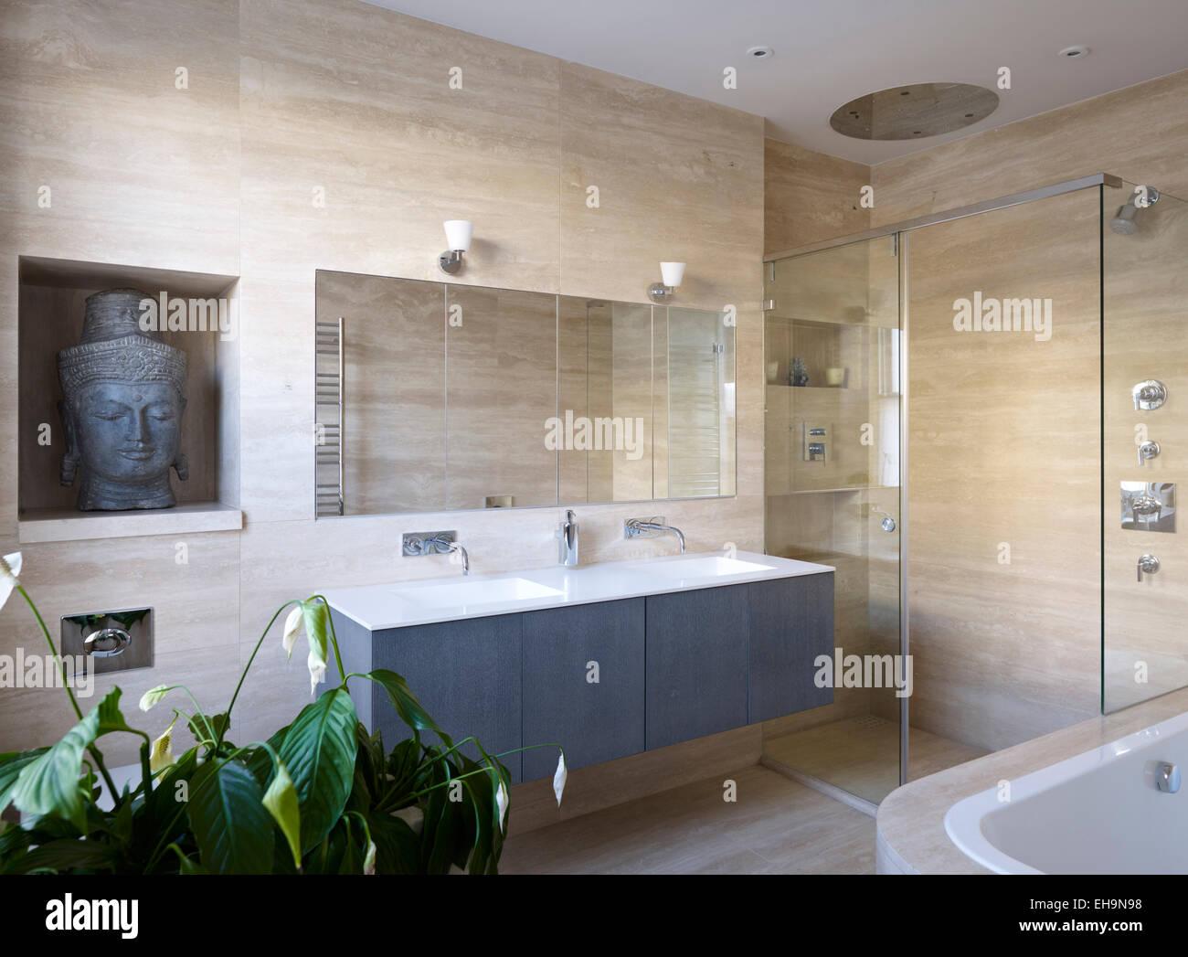 Bagni Con Doccia E Vasca Moderni : Sala da bagno sala da bagno visuale 3