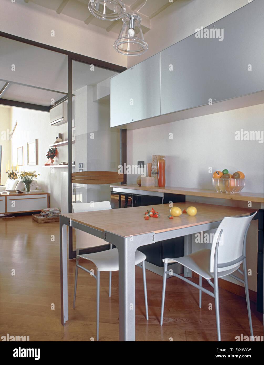 Soggiorno Cucina Legno | Illuminazione Soggiorno Cucina