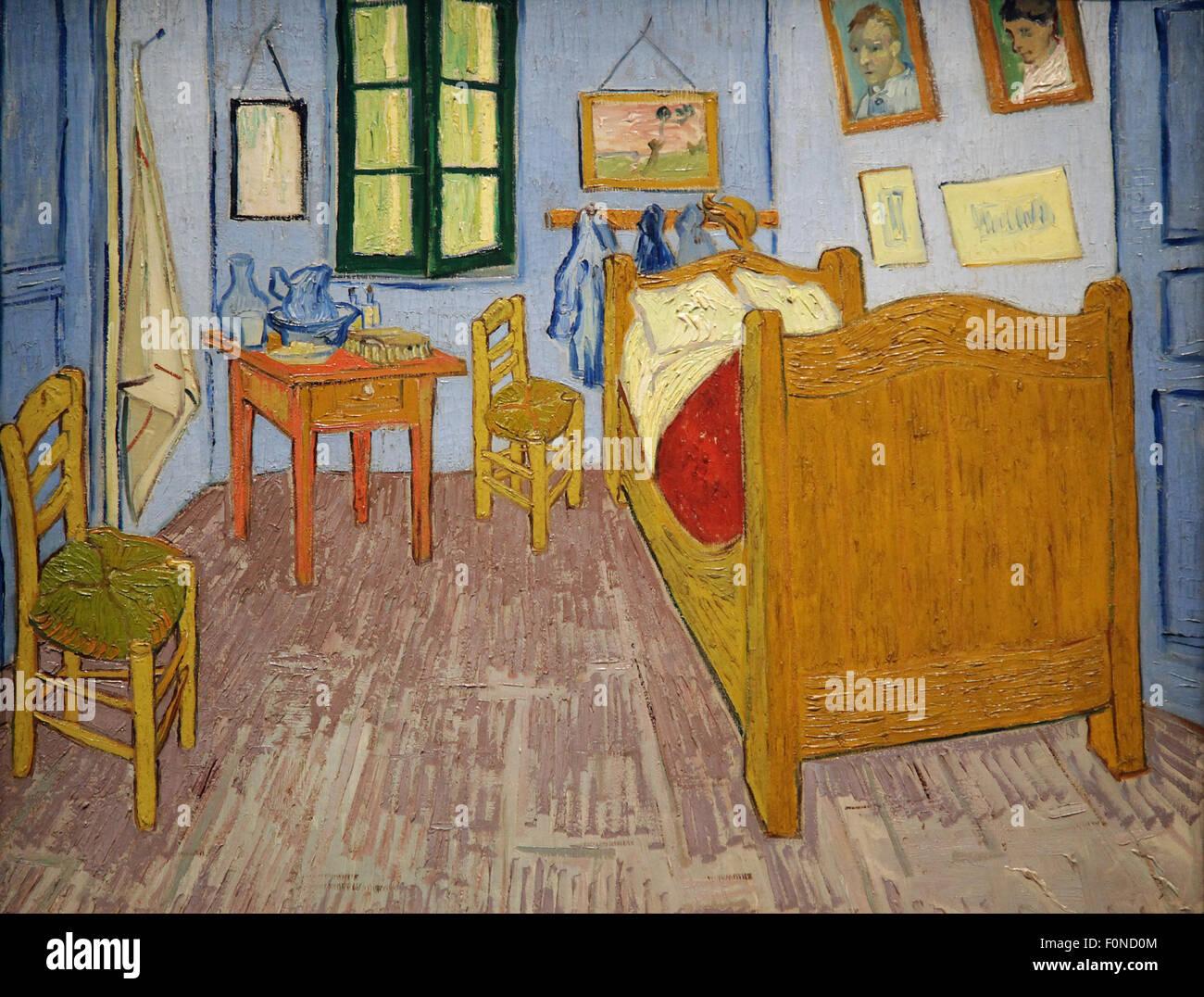 Quadro Camera da letto ad Arles di Van Gogh, falso d\'autore ...