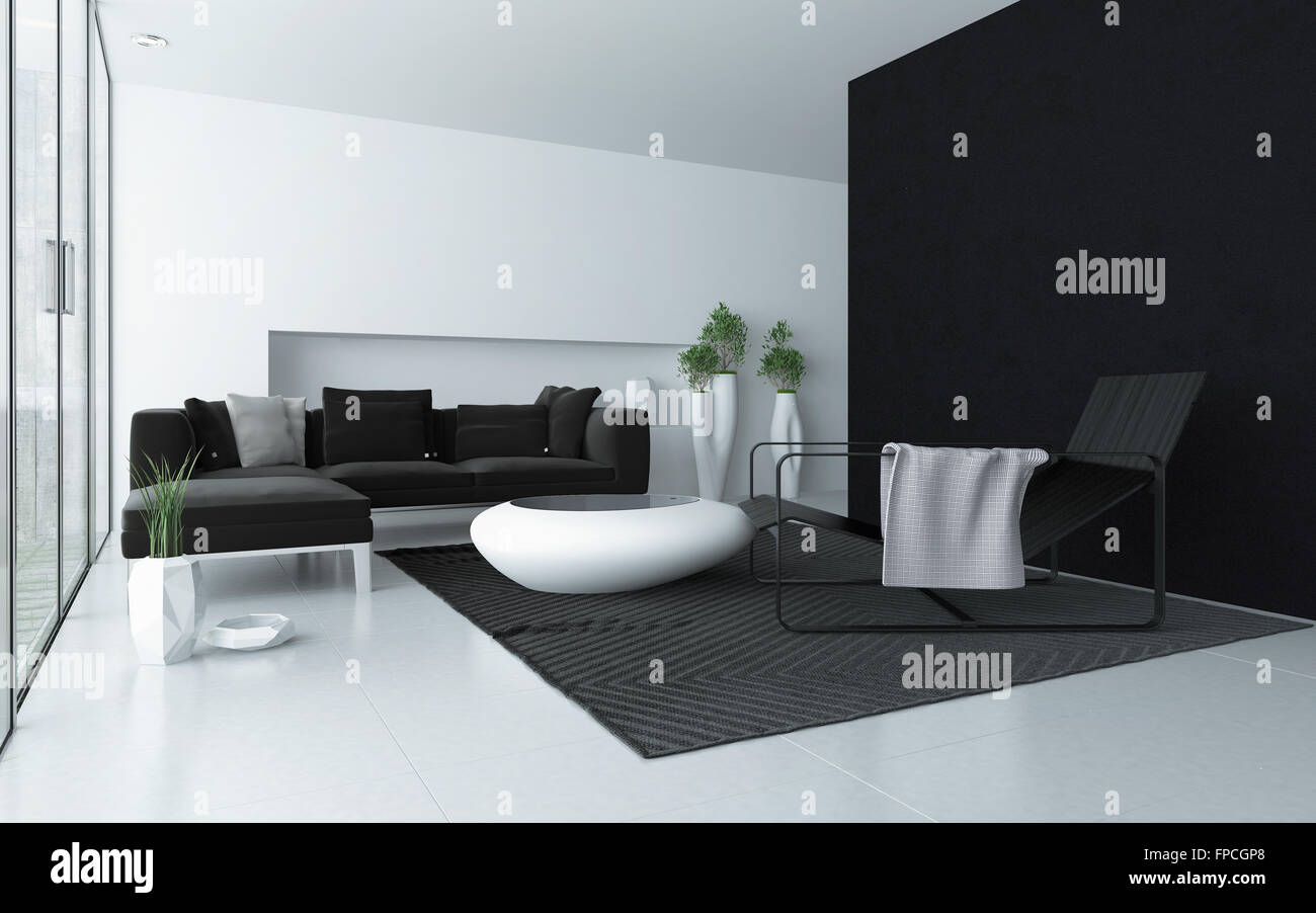 Salotto Moderno Bianco E Grigio : Tavolino salotto moderno bianco nero salotto moderno bianco