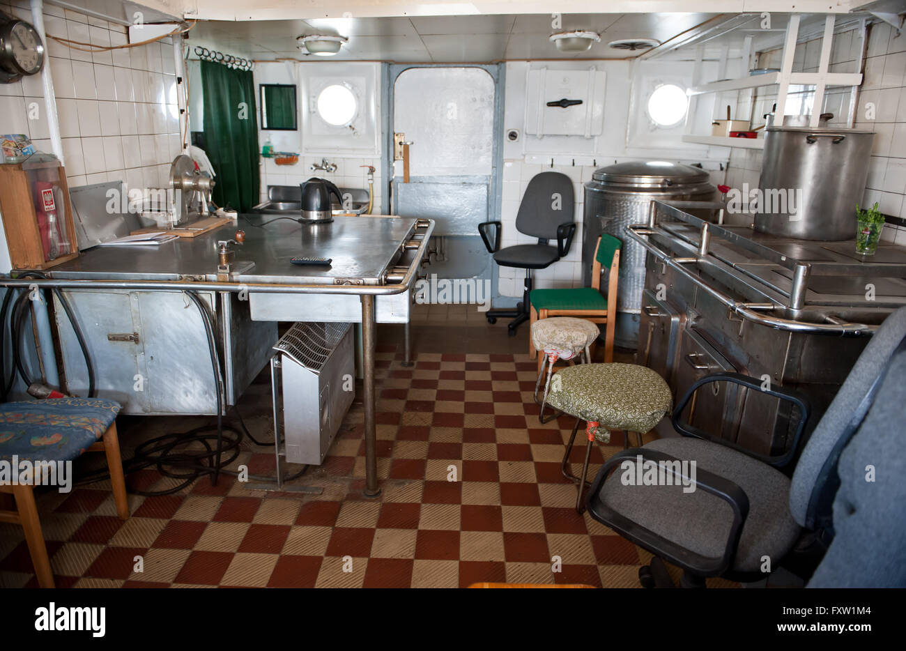 Arte Cucine Gdynia Cabin Ship Immagini Cabin Ship Fotos Stock Alamy