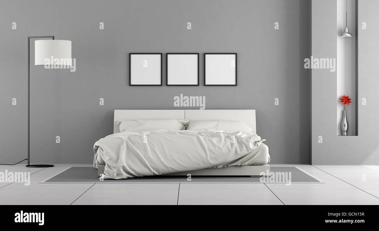 Camera Da Letto Grigio Rovere : Camera da letto rovere sbiancato travi a vista