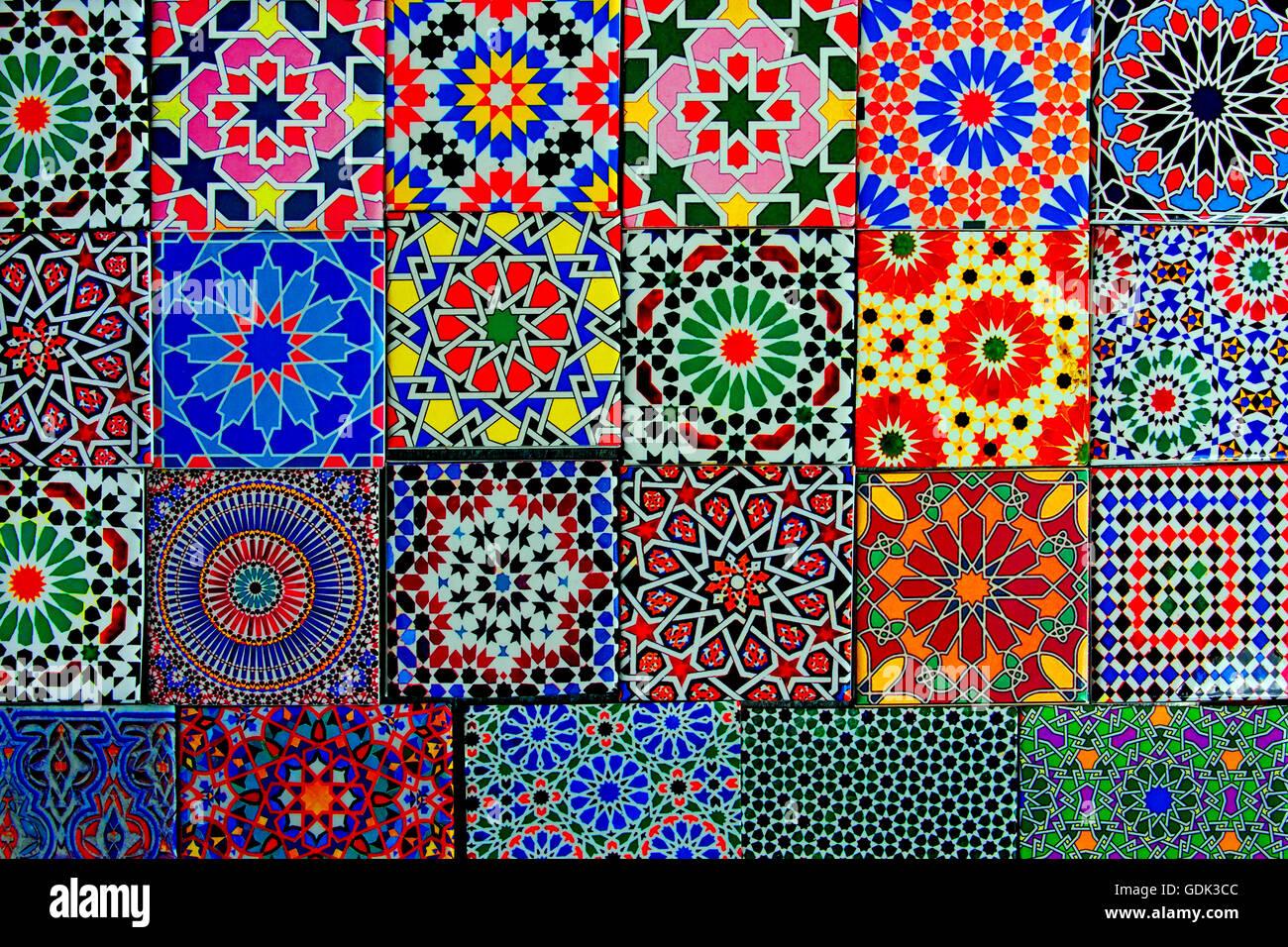 Piastrelle ceramica marocco spanich moroccan style vintage