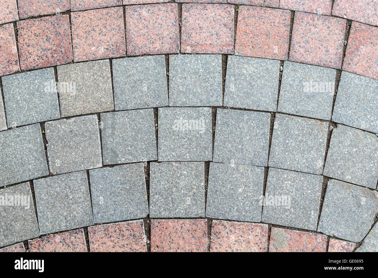 Le piastrelle quadrate del pavimento cementine retrÒ fioranese