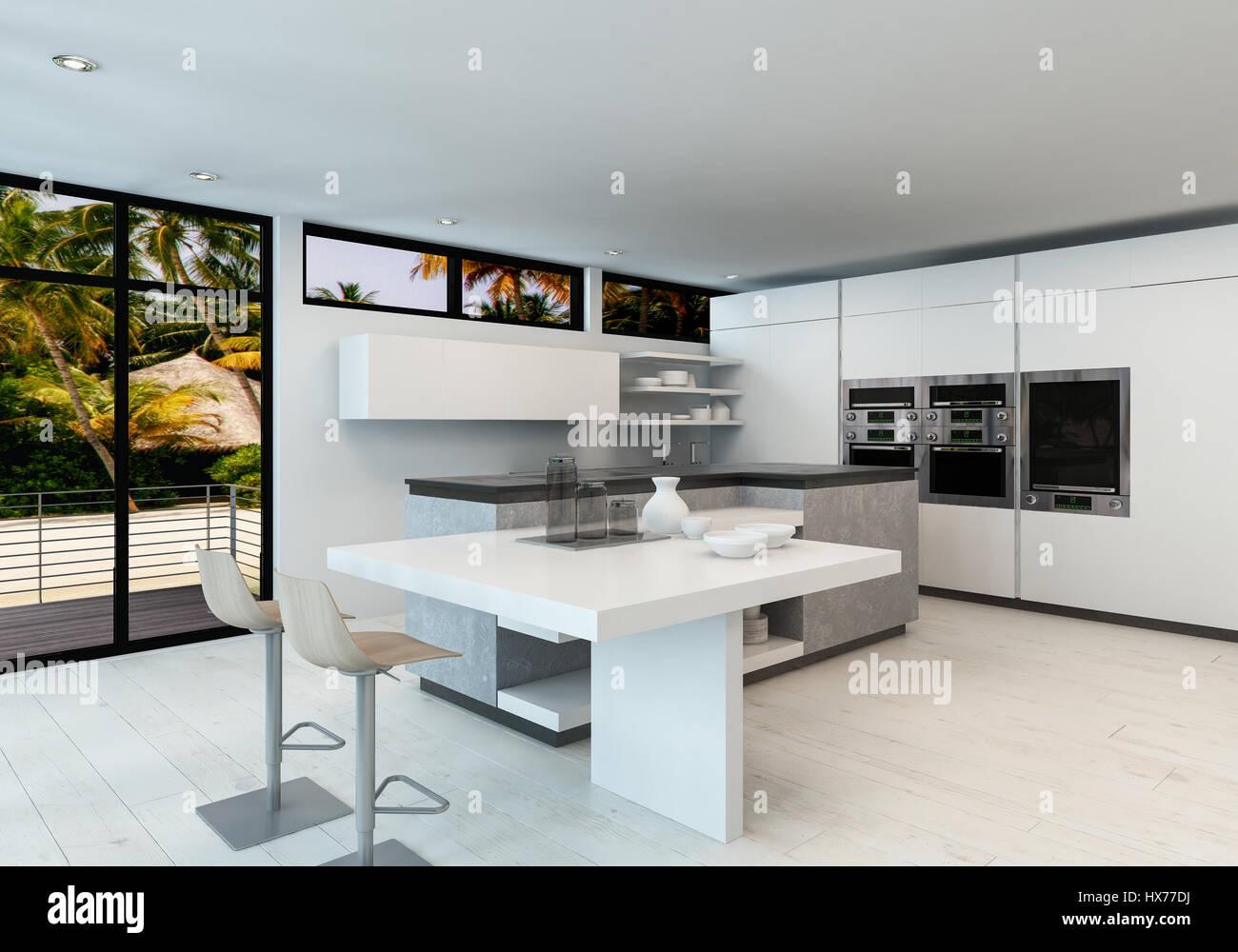 Bancone bar cucina for Bancone con angolo
