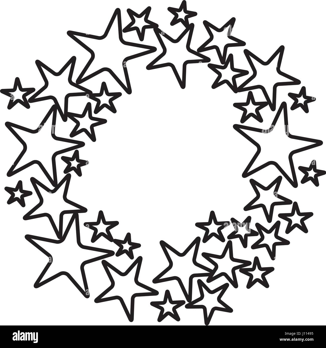 Contorno Stella Black And White Stars Immagini And Black And White Stars