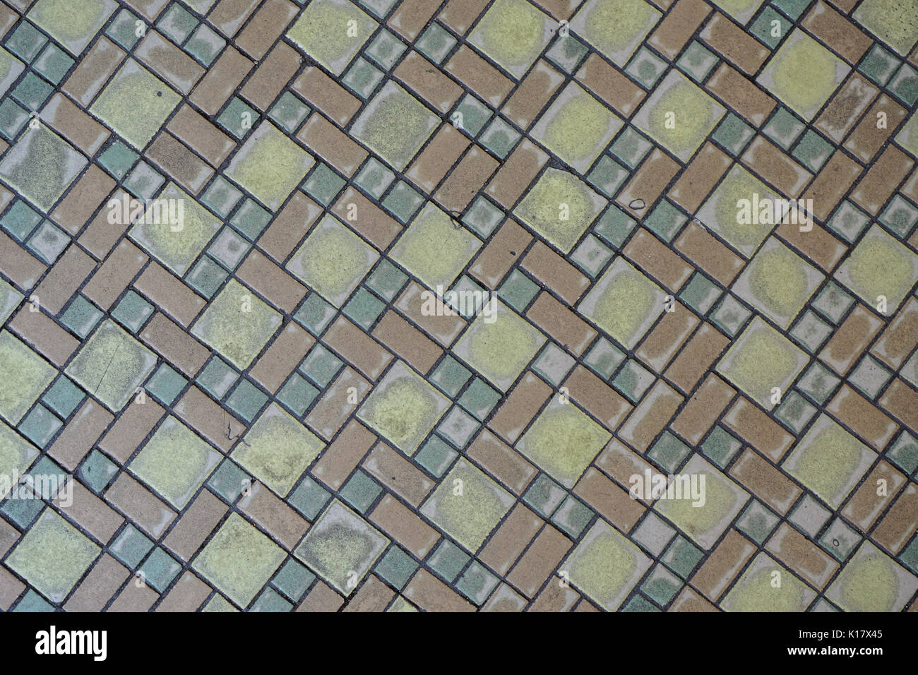 Piastrelle colorate vintage bagni moderni i principi delle nuove