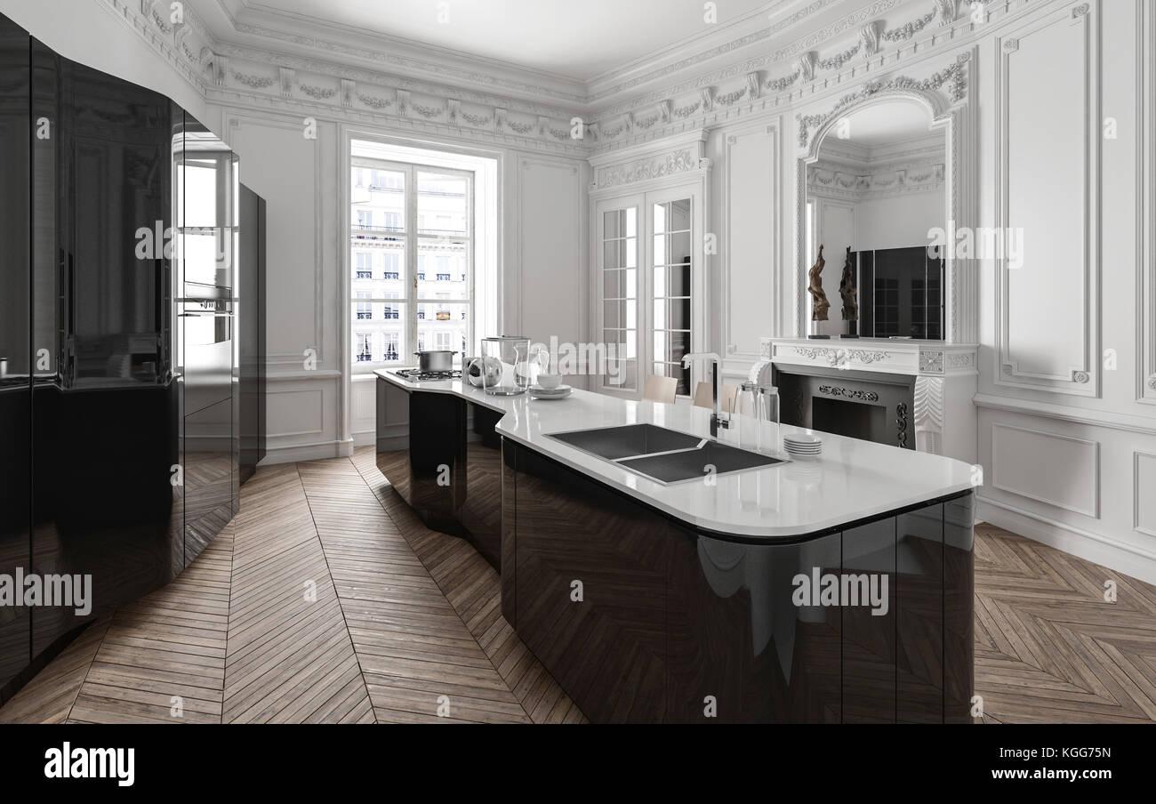 Legno Bianco E Nero : Cucina legno nero arredo cucina frida nero e legno righetti
