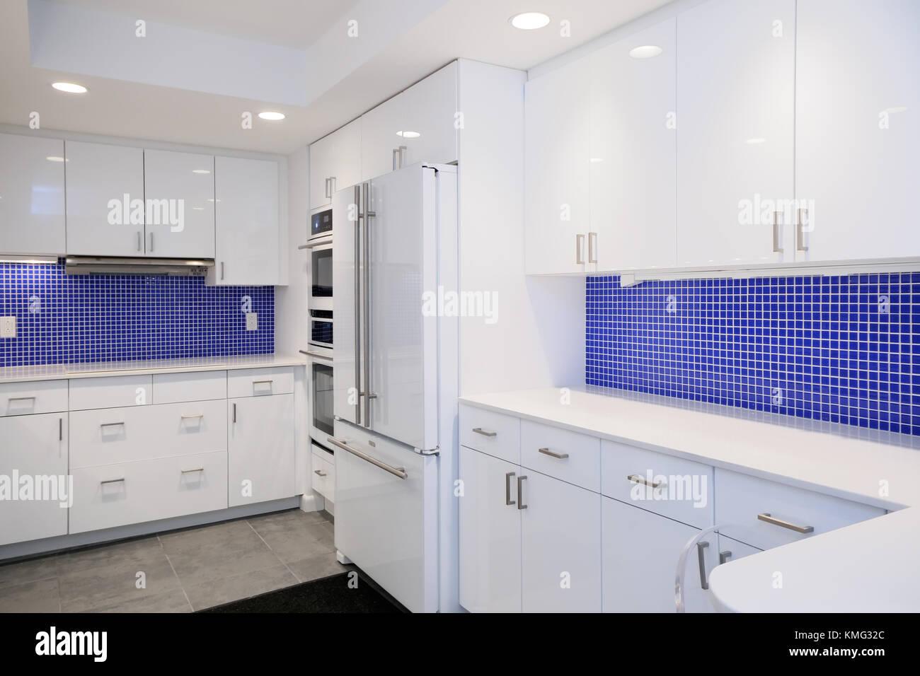 Piastrelle cucina bianche blu cucine moderne 3x3
