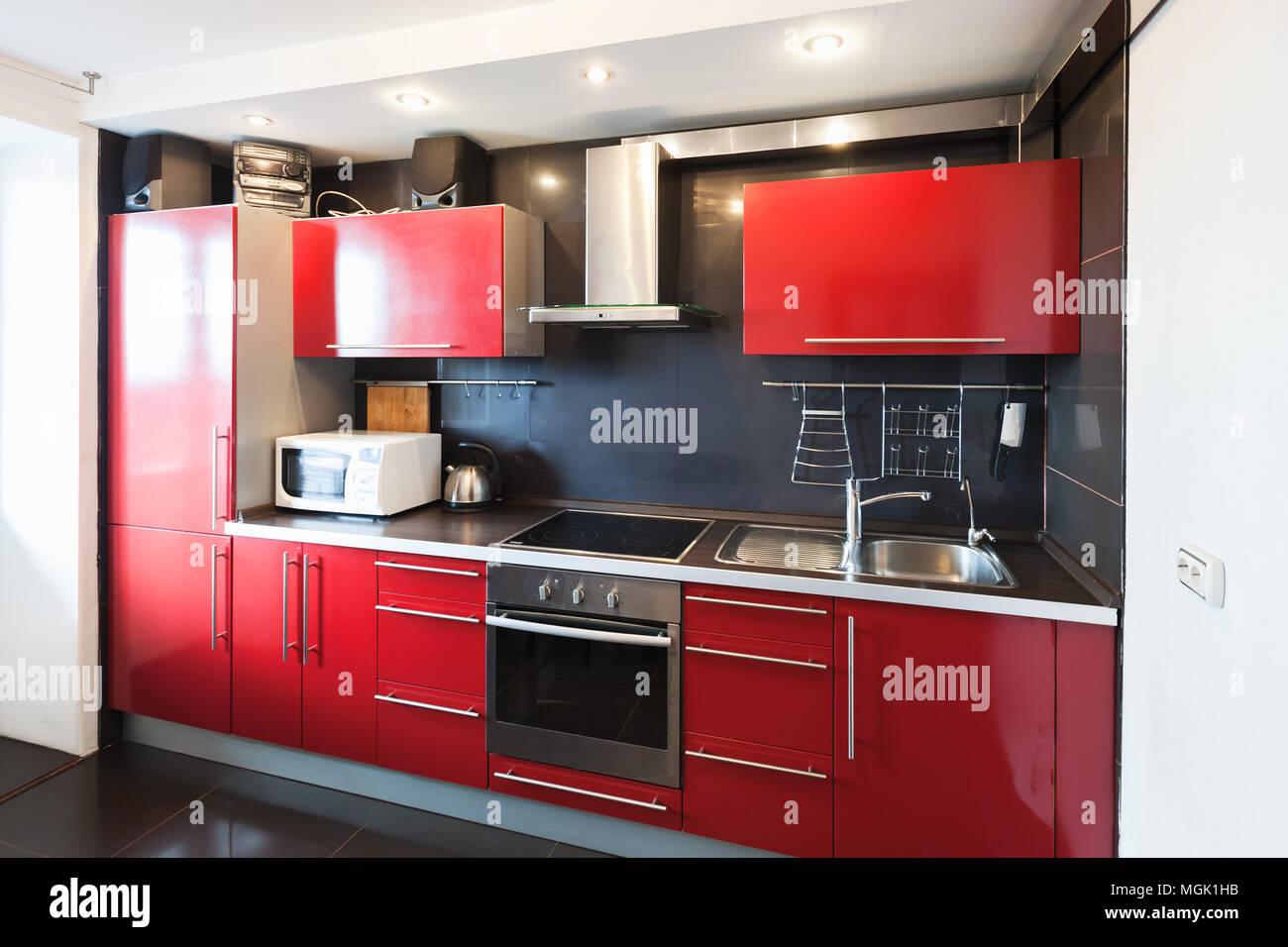 Top Cucina Rosso   Di Biase Marmi Arredo Cucine Di Biase Marmi