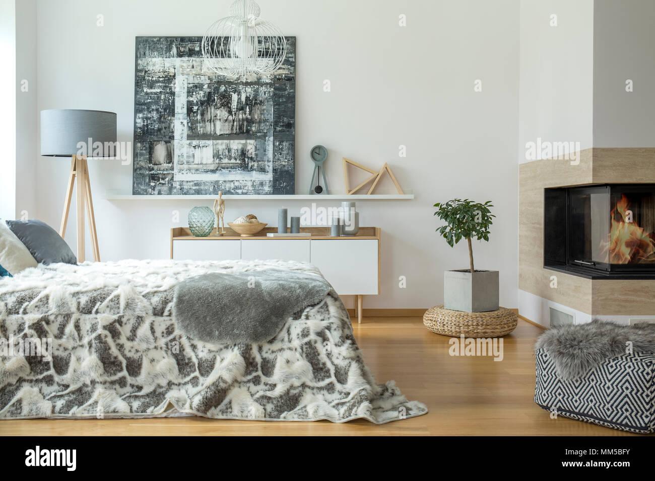 Pitture Per Interni Grigio : Pittura camera da letto grigio perla pittura camera da letto
