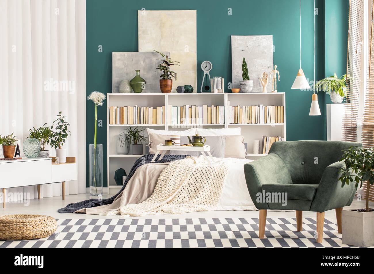 Camera Da Letto Parete Turchese : Camera da letto turchese tappeti tappeti tappeti spessi pile di