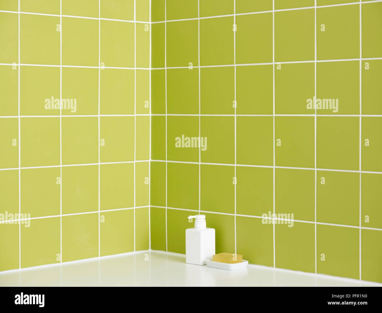 Piastrelle bagno verde lime gallery of cucina da colorare colorare