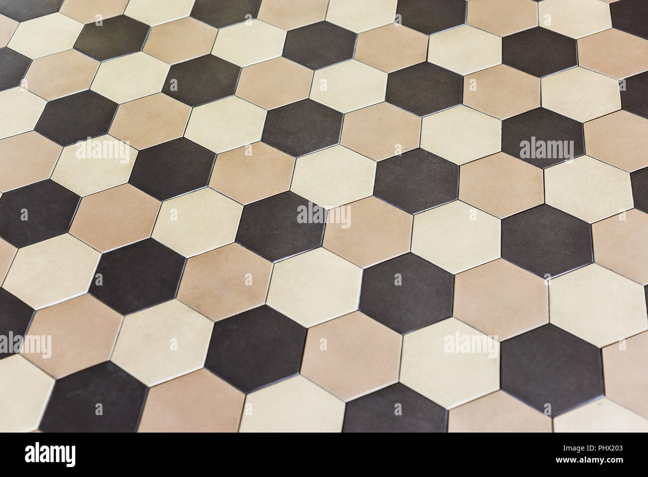 Piastrelle esagonali beige piastrelle per il bagno soluzioni
