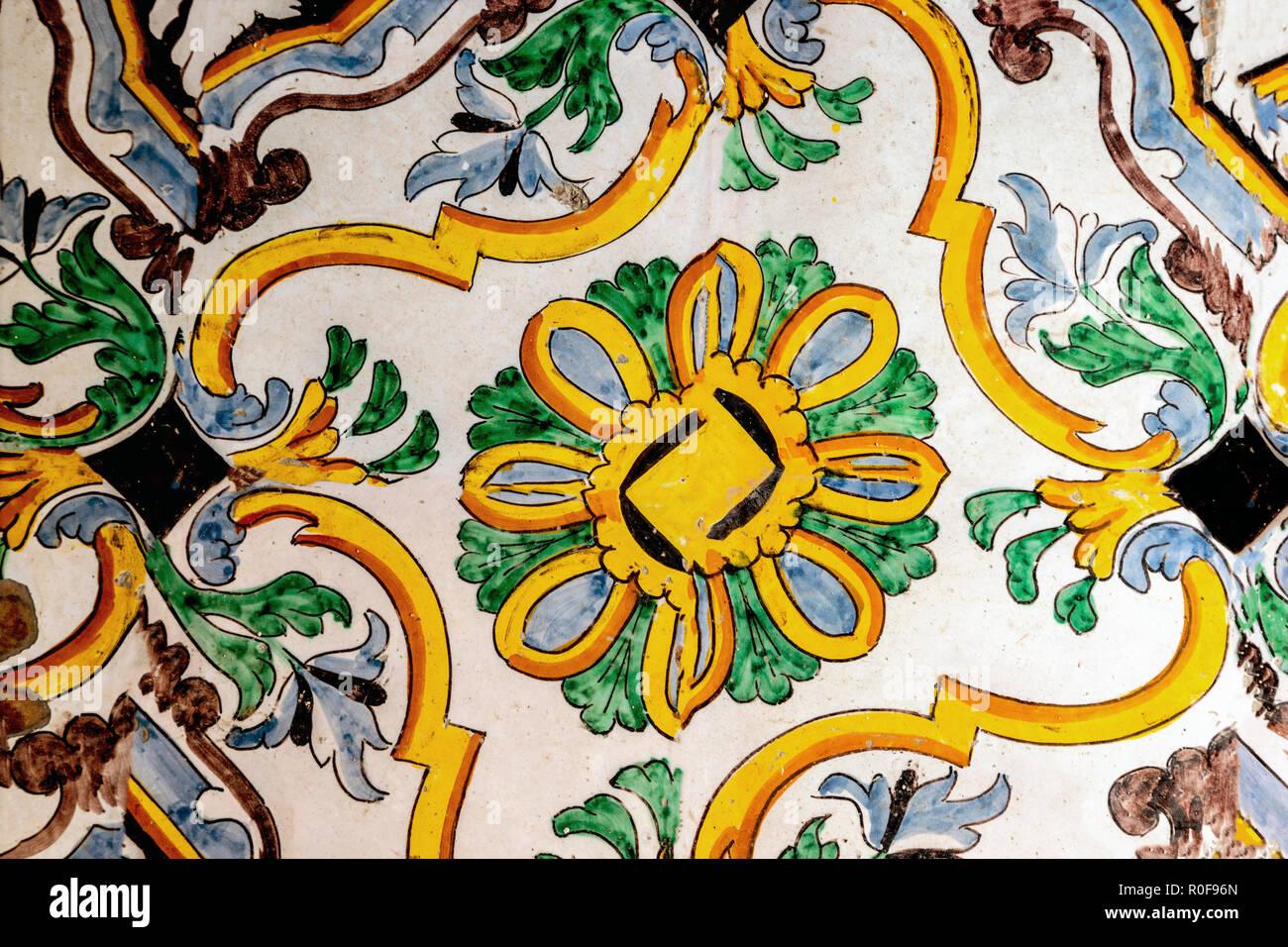 Piastrelle stile siciliano ceramiche caesar