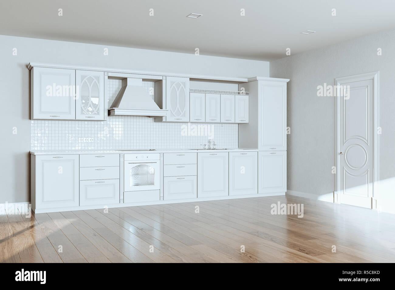 Piastrelle da cucina classica immagini di cucine bianche laccate