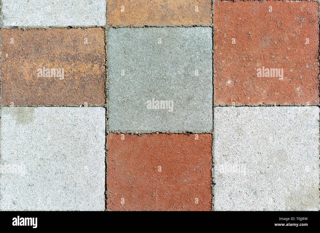 Piastrelle quadrate texture piastrella da interno da pavimento