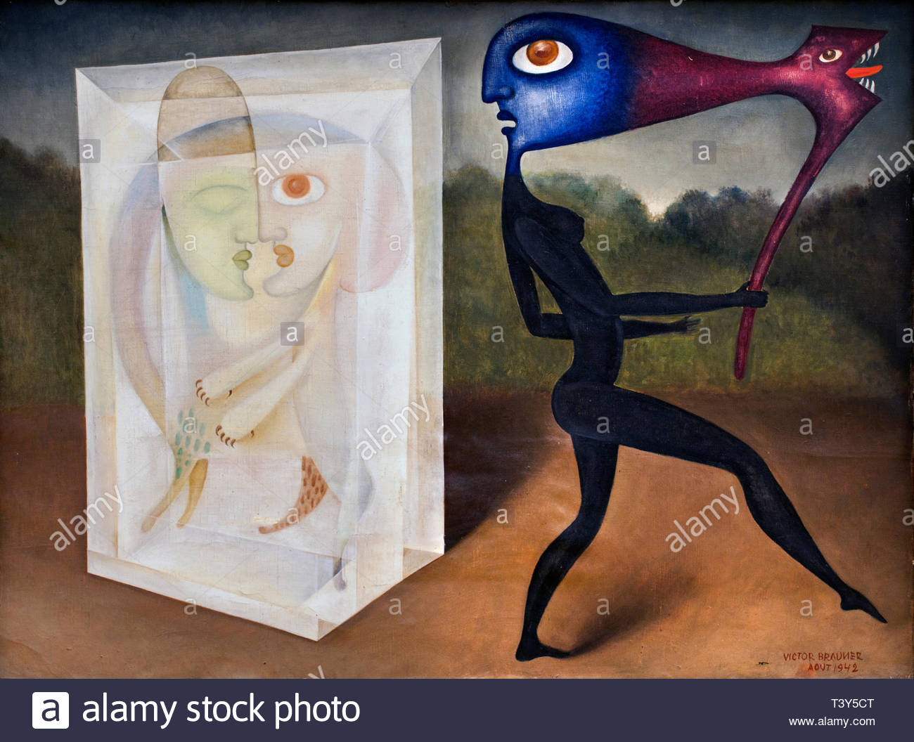 Pittori Francesi Surrealisti Art Surrealist Immagini Art Surrealist Fotos Stock Alamy