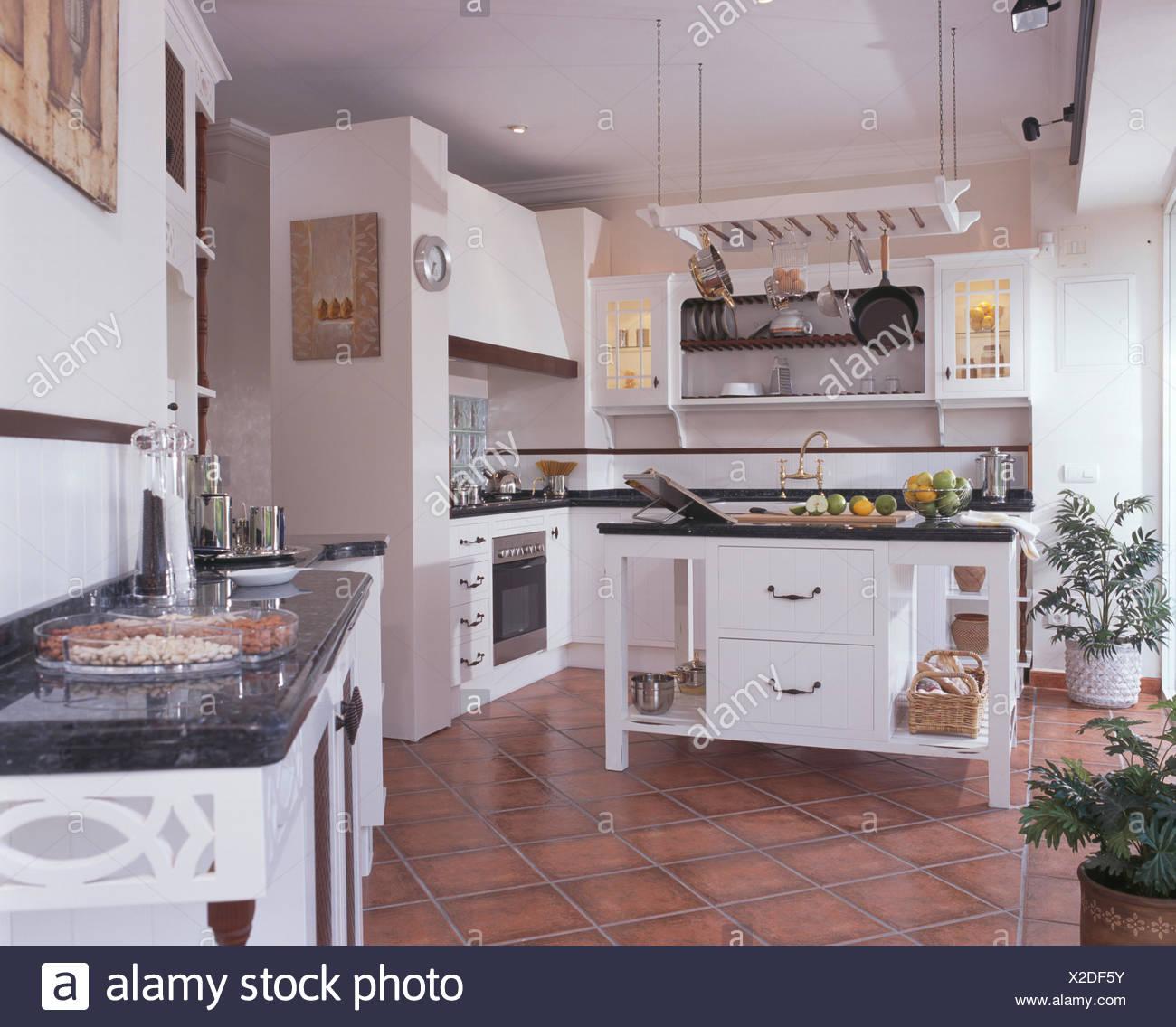 Piastrelle Pavimento Cucina Moderna